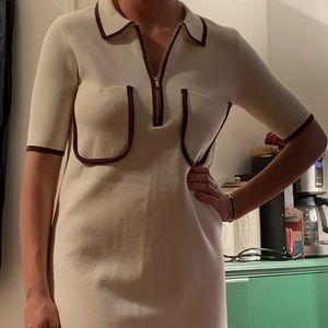 Zara thick knit dress mini
